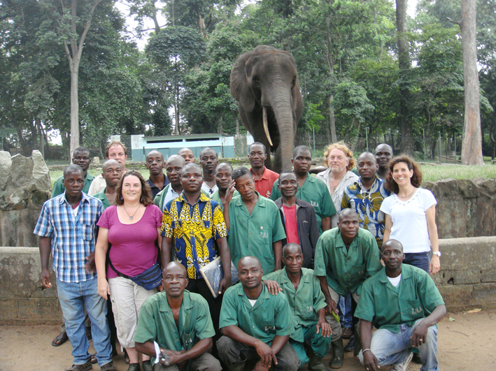 Abidjan Zoo Cooperation Team